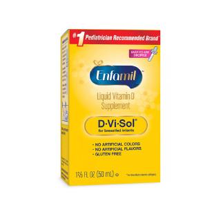 Mead Johnson Nutrition美赞臣 婴幼儿维生素D滴剂促进钙吸收预防佝偻病 0-36-50ML