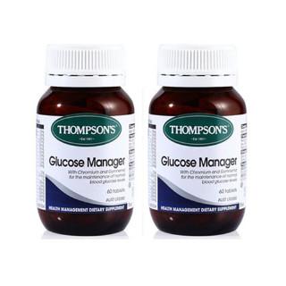 Thompsons汤普森 血糖平衡片 60片 ×2