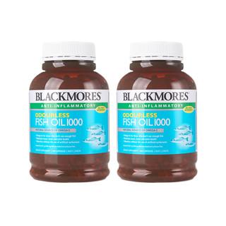 澳佳宝BLACKMORES 无腥味深海鱼油 400粒 ×2